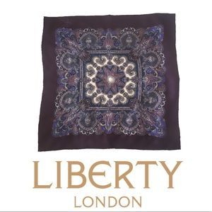 Liberty of London Twill Pure Silk Scarf